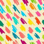 Nahtlose muster mit doodle-streifen. — Stockvektor