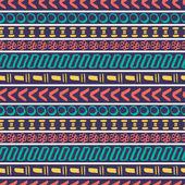 部落的无缝条纹. — 图库矢量图片