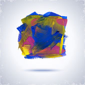 Grunde paint square. — Stock vektor