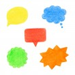 Set of speech bubbles. — Stock Vector