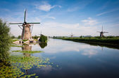 Kinderdijk — Stock Photo