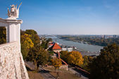 View from Bratislava Castle — Stock Photo