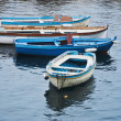 Colored boats - Stock Photo