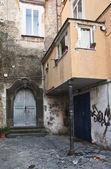 улица неаполь — Стоковое фото