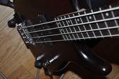 Bass guitar — Stok fotoğraf