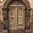 Italian door — Stock fotografie