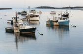 мэн лодки — Стоковое фото