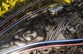 オートバイの落書き — ストック写真
