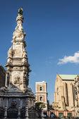 Piazza del Gesu — Stock Photo