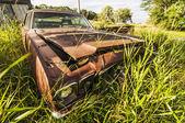 Wrecking car — Stock Photo