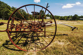 Old plough — Stock Photo