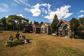 загородные дома — Стоковое фото