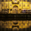 Navigli canal — Stock Photo