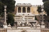 Piazza del Popolo — 图库照片