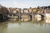 Tiber river — Stock Photo