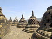 Borobudur Temple in Indonesia — Stok fotoğraf