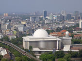 View of Masjid Istiqlal — Stock Photo