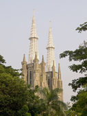 View of Jakarta Cathedral — Stock Photo