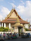 Wat Pho liegender buddha — Stockfoto