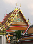 Wat Pho reclining buddha — Stock Photo