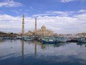Marina mosque in Hughada — Stock Photo