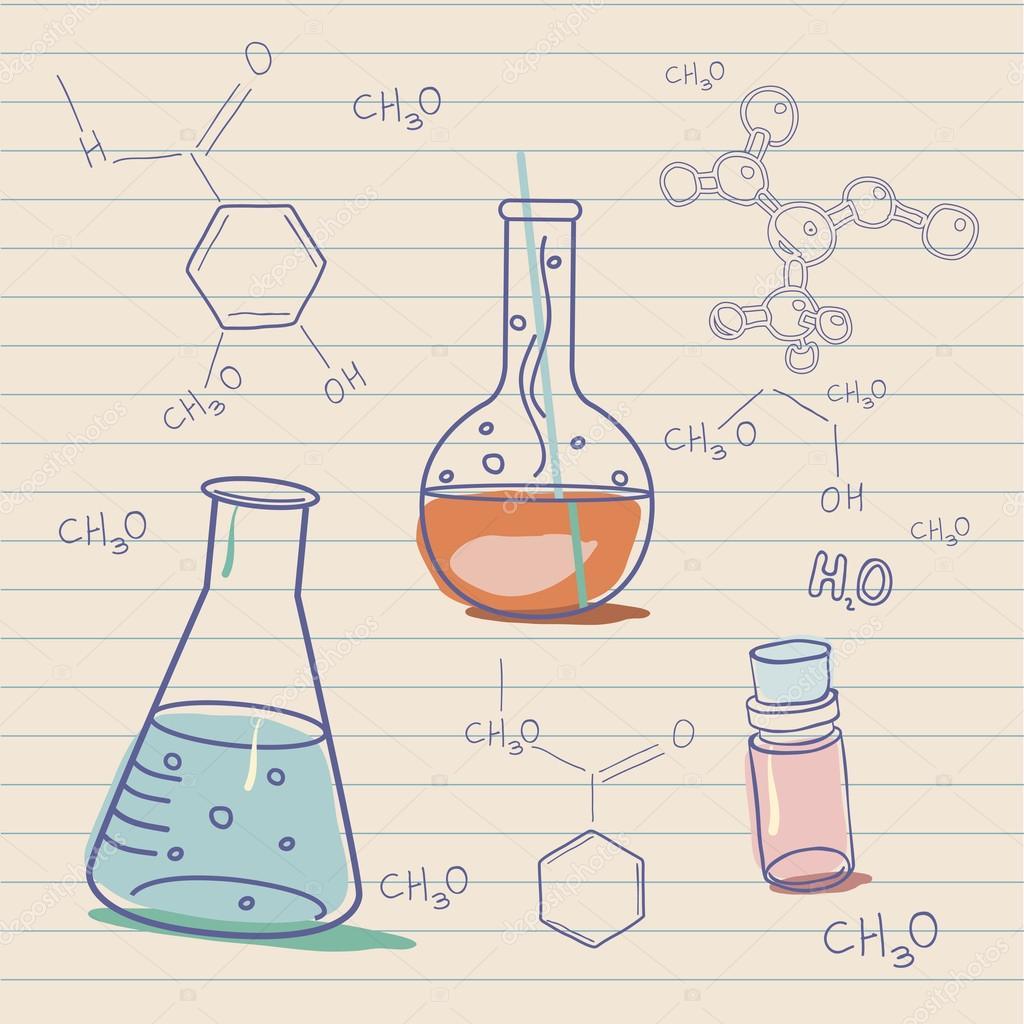 老科学和化学实验室