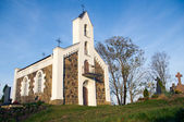 小乡村教堂 — 图库照片