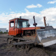 Stock Photo: Crawler tractor