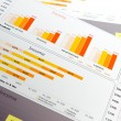 Financial graph — Stock Photo #33697995