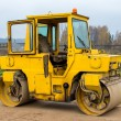 Road roller — Stock Photo #34168607