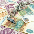 Old Russibanknotes — Stock Photo #40309933