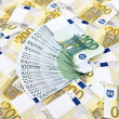 Euro banknotes — Stock Photo #40376593