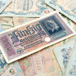 Old Banknotes — Stock Photo #40453893