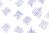 Tic Tac Toe Game — Foto Stock