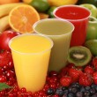 Stock Photo: Fresh Smoothies