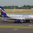 Aeroflot Airbus A319 - Stock Photo