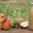Pear juice — Stock Photo