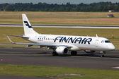Finnair Embraer 190 — Stock Photo