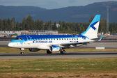 Estonian Air Embraer 170 — Stock Photo