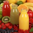 Fresh fruit juices — Stock Photo #13864457