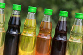 Collection of cooking oil — Stock Photo