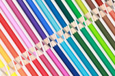 Collection of color pencils — Stock Photo