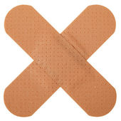 Patch in cross shape — Stock Photo