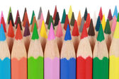 Collection of colored pencils — Stock Photo