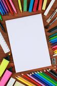 Prázdný prázdný zápisník — Stock fotografie