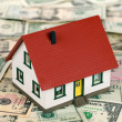 Stock Photo: Home financing (Dollars)