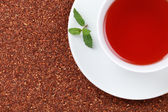 Rooibos Tea with lemon balm — Stock Photo