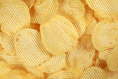 Rippled chips — Stock Photo