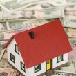 Stock Photo: Symbolic picture for financing real estate