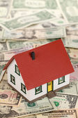Symbolic picture for financing a real estate — Stock Photo